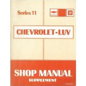 1981 CHEVROLET LUV TRUCK Diesel Engine Service Manual