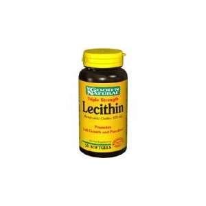 GoodN Natural   Lecithin Triple Strength, 50 Softgels