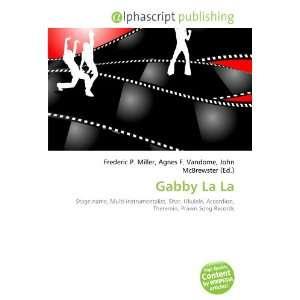 Gabby La La (9786132709813) Books