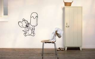 TOM AND JERRY BABY ROOM NURSERY WALL VINYL STICKER DECALS ART MURAL