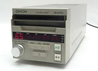 DENON DN 951FA PROFESSIONAL PRO AUDIO COMPACT DISC CD CART CARTRIDGE