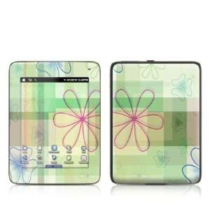 Plaid Flower Design Protective Decal Skin Sticker for Velocity