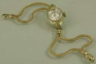 14k SOLID GOLD Omega ladies watch, 14k GOLD BRACELET, Original Omega