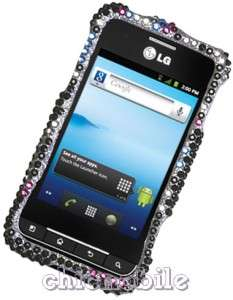 Premium Full BLING BUBBLE Case Cover  NET 10 Android LG OPTIMUS