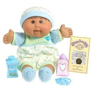 Cabbage Patch Kids Babies   Hispanic Boy Brunette Hair Toys & Games