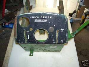 JOHN DEERE 112 110 DASH TOWER