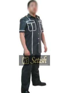 Rubber Latex SETISH™ Shirt & Pants Costume #09001