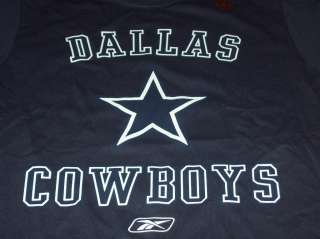 Cowboys NEW Reebok NFL Short Sleeve Shirt Size Medium