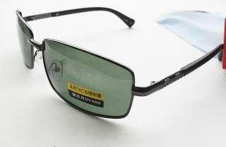 Black Vintage Aviator Full Mirror Polarized Sunglasses