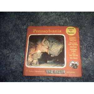 Pennsylvania View Master Reels SAWYERS Books