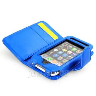 LEATHER CASE POUCH WALLET COVER FOR APPLE IPHONE 3GS 3G