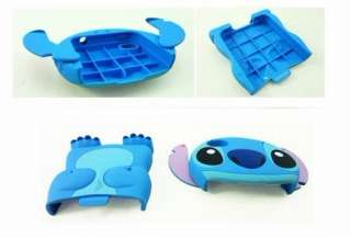 Cute STITCH Puppy 3D Figure Pop Out Ears Iphone 4 4S Hard Cell Case