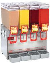 Cecilware 4 Bowl 8.8g Cold Beverage & Juice Dispenser