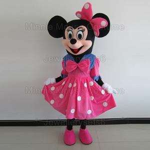 Adult Minnie Mouse Costume Mascot New Cartoon Costume