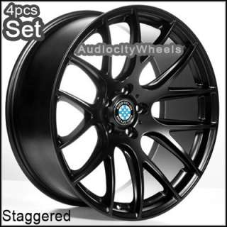 20inch M111 Black BMW, Wheels,Staggered Rims(Concave)
