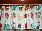 tailored VALANCE with Sanrio HELLO KITTY & friends CHARACTER fabric
