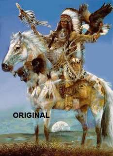 Indian Spirits Cross Stitch Pattern Native American