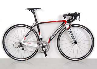 TREBISACCE RED PRO CARBON ROAD BIKE SRAM FORCE 10 spd BICYCLE 58 cm