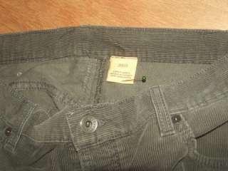 Mens John Varvatos USA Corduroy jeans size 38 x 36.5