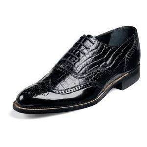 Stacy Adams Mens Dayton Black Leather Dress Shoe 00267