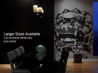Vinyl Wall Decal Sticker Asian Chinese Dragon Statue