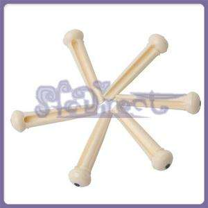 Ivory Bridge Pins for Taylor Martin Acoustic Guitar |