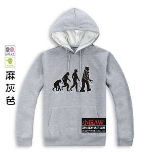 The BIG BANG THEORY Sheldon Cooper Einstein Evolution Hoodie Gray XS