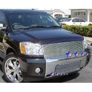 2004 2005 2006 2007 Nissan Titan/Armada 1pc Billet Grille