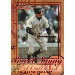 2004 Fleer Sweet Sigs Sweet Swing #7 Todd Helton Sports Collectibles