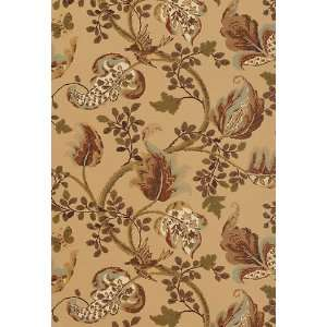 Fox Hollow Honey / Smoke by F Schumacher Wallpaper