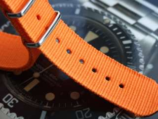 G10 NATO Military Watch Strap   Bright Orange