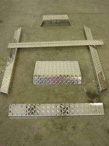 Club Car DS Golf Cart 6 Pc Diamond Plate Accessory Kit