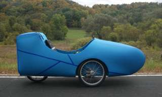 Liberty SL Rover Velomobile   Very light weight   Recumbent trike