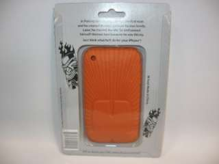 Burnt Orange Tiki Apple IPhone 3G 3GS Case Skin Holder