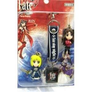 Fate/Stay Night Rin & Saber Chibi Phone Charm & Strap
