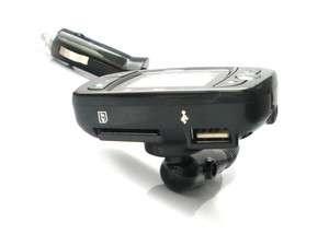Bluetooth Hands Free Car Kit & FM Transmitter SB328