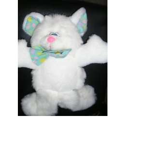 White Puppy Dog 12 Plush Toy Stuffed Animal Toys & Games