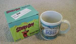 SCOOBY DOO Dad Your Great Ceramic Coffee Mug NEW