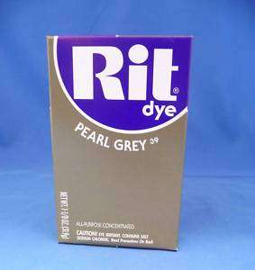 Rit Dye Fabric Powder   Pearl Grey for Laundry, clothes