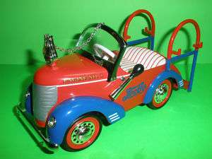 PEPSI COLA 1941 GARTON FIRE TRUCK ENGINE PEDAL CAR #3 CROWN PREMIUM