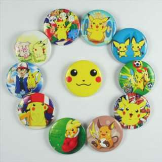Pokemon Pikachu Pins Badges Buttons Boy Girl Birthday party favor Gift