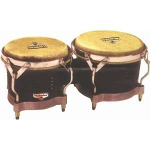 LP M201 Matador Wood Bongos Dark Brown Musical
