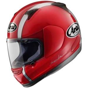 ARAI PROFILE PASSION RED MOTORCYCLE HELMET ALL SIZES