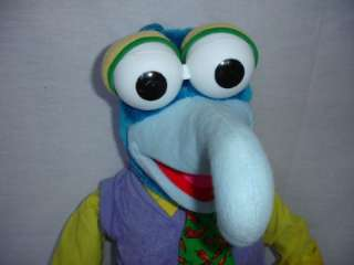 Lot Muppets Puppets Gonzo Piggy Kermit VHS Jim Henson Large Plush