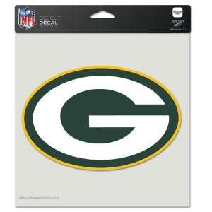 Green Bay Packers DIE CUT Full Color DECALS 8x8