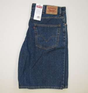 New Mens Levis 550 Relaxed Fit Shorts   Sizes 34, 38 & 40   Color