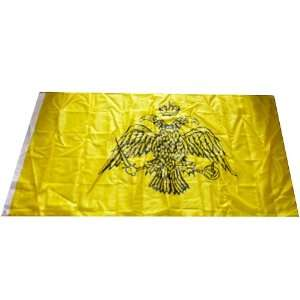 Double headed Eagle Heraldry Vexillology Flag Banner 3x5