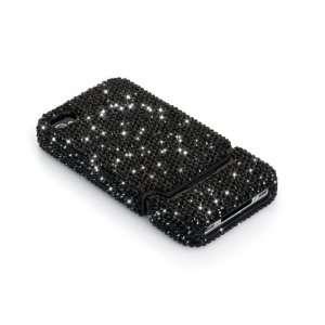 iSee Case TM Luxury Black Crystal Bling Rhinestone Slider