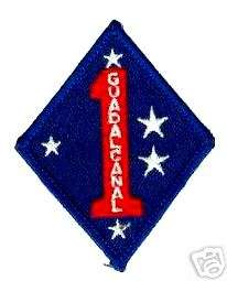 VIETNAM US MARINE CORPS 1ST MARINE DIVISION USMC PATCH