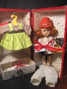 Vogue Ginny Doll Case Clothes Outfits 1950s Majorette